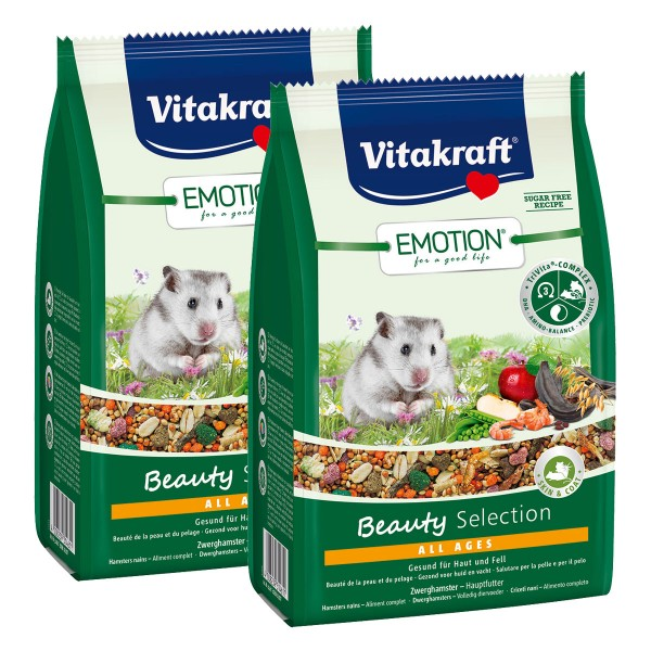 Vitakraft Emotion Beauty Selection Zwerghamster 2x300g