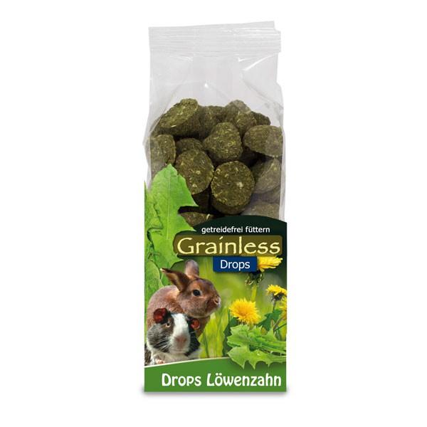 Haustier Angebot: JR Farm Grainless Drops Löwenzahn 140g