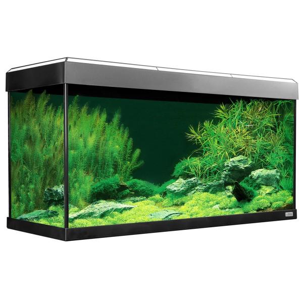 Fluval Aquarium Roma 200 mit Dekorstreifen - Weiß