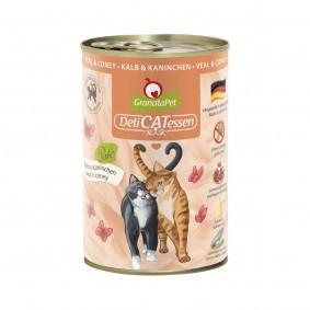 GranataPet Katze - Delicatessen Dose Kalb & Kaninchen