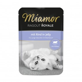 Miamor Ragout Royale in Jelly Kitten Rind