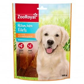 ZooRoyal Hundesnack Hühnchen-Filets 150g