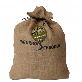 Naturhof Schröder Vitaminheu im Jutebeutel 2x1kg