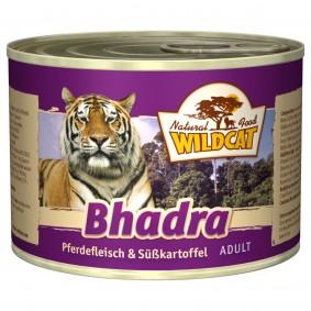 Wildcat Bhadra mit Pferdefleisch und Süßkartoffel