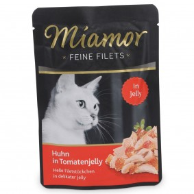 Miamor Katzenfutter Feine Filets Huhn in Tomatenjelly