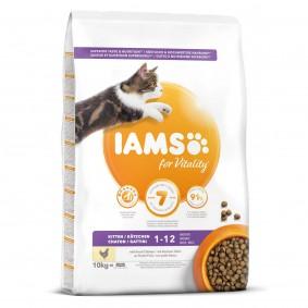 IAMS for Vitality Kitten mit frischem Huhn 2x10kg