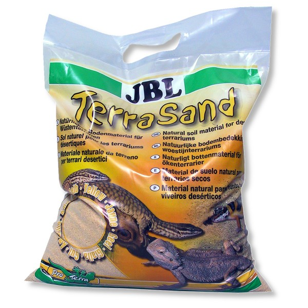 JBL TerraSand Terrarien-Sand - 7,5 kg - gelb