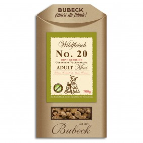 Bubeck No.20 Mini Wildfleisch 700g