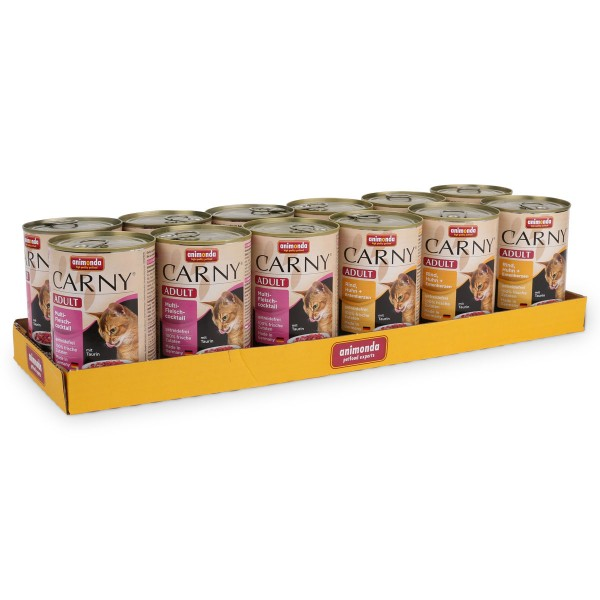 Animonda Carny Mix 2 Katzenfutter Adult 12x400g