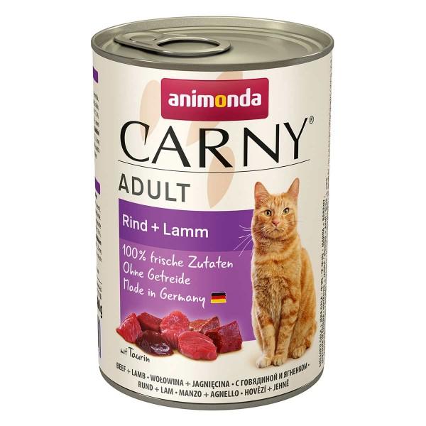 Animonda Katzenfutter Carny Adult Rind und Lamm
