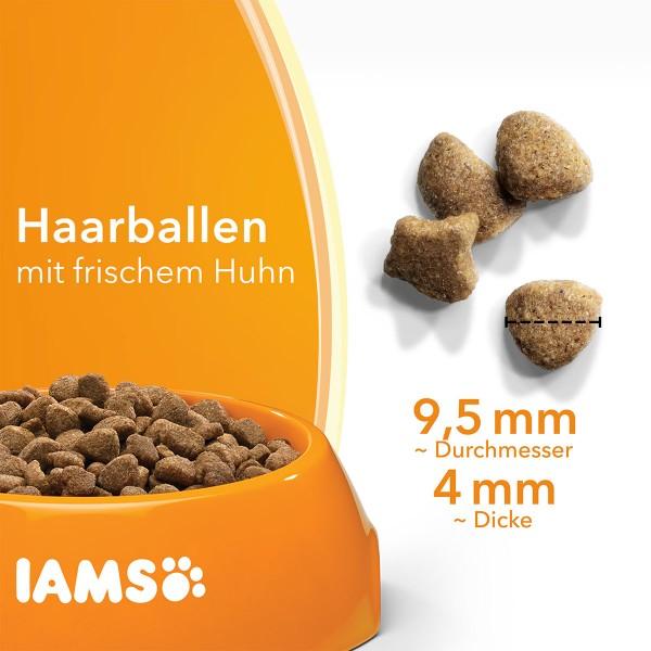 IAMS for Vitality Anti-Haarballen mit frischem Huhn