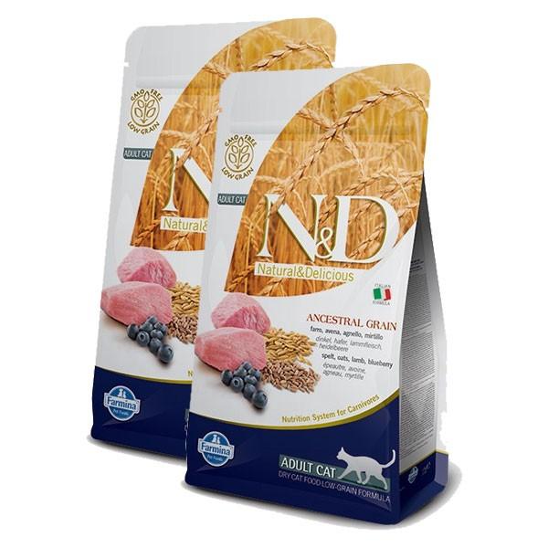 N&D Katzenfutter getreidearm 2x1,5kg Trockenfutter verschiedene Sorten