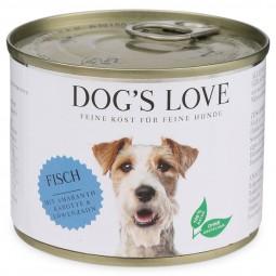 Dog's Love Classic Fisch mit Amaranth, Karotte & Löwenzahn
