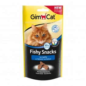 GimCat Fishy Snacks mit Lachs 35g