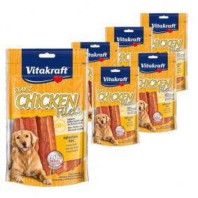Vitakraft Hundesnack pure Chicken Hühnchenfilet 5x80g + 1x80g gratis
