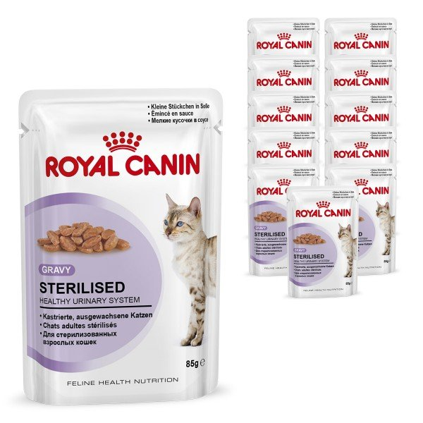 royal canin katzenfutter gravy sterilised in so e bei zooroyal. Black Bedroom Furniture Sets. Home Design Ideas