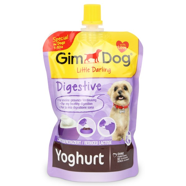 GimDog Topping Yoghurt Digestive 150g