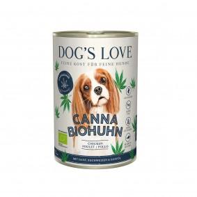 DOG'S LOVE Canna BIO Huhn mit Hanf