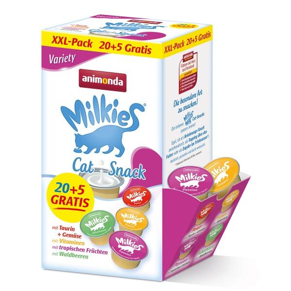 animonda Milkies Adult Variety 20+5 GRATIS Mixpack 25 x 15g