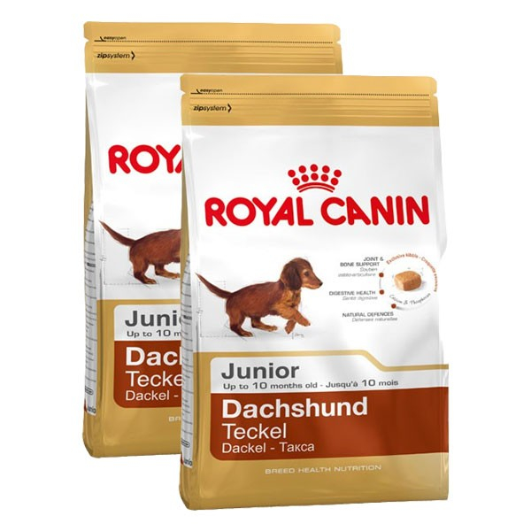 Royal Canin Hundefutter Dachshund Junior 2x1,5kg