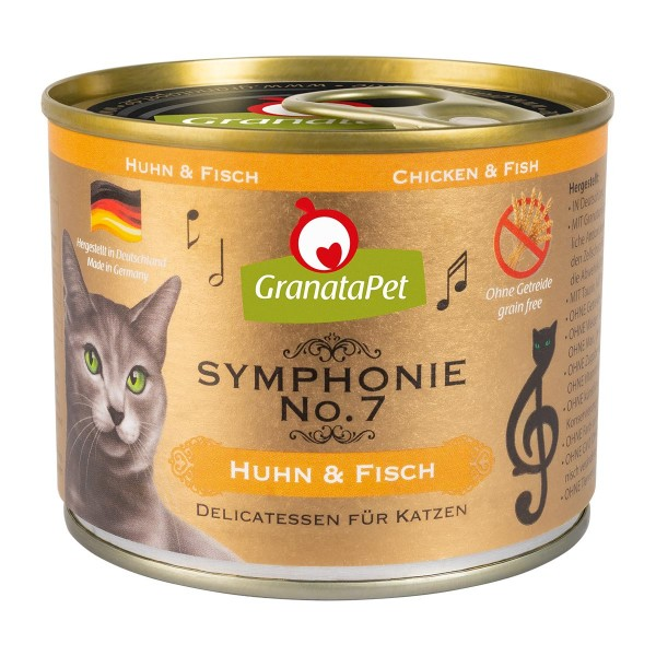 GranataPet Symphonie No. 7 Huhn & Fisch