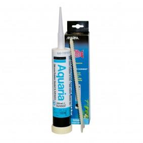 MARINA Aquaria - Colle silicone pour aquariums, transparente, 310 ml