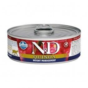 Farmina N&D Cat Quinoa Weight Management 80g