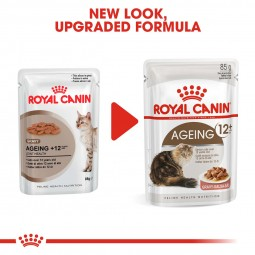 ROYAL CANIN AGEING 12+ in Soße Nassfutter für ältere Katzen 12x85g