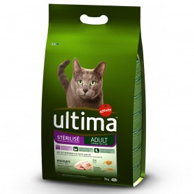 Ultima Cat Trockenfutter Sterilized Geflügel 3kg