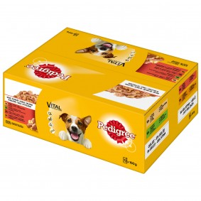 Pedigree Portionsbeutel Multipack Adult in Gelee