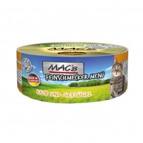 MAC's Cat Feinschmecker Menü Kalb und Geflügel