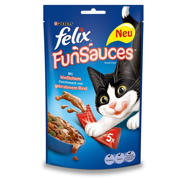 FELIX FunSauces Rindgeschmack 5x15g