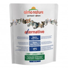 Almo Nature Alternative dry Cat 2 Wachtel und Reis