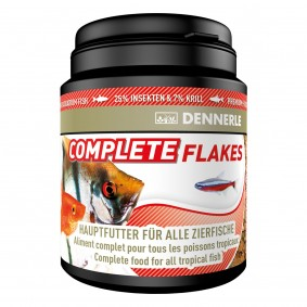 Dennerle Fischfutter Complete Flakes 200ml