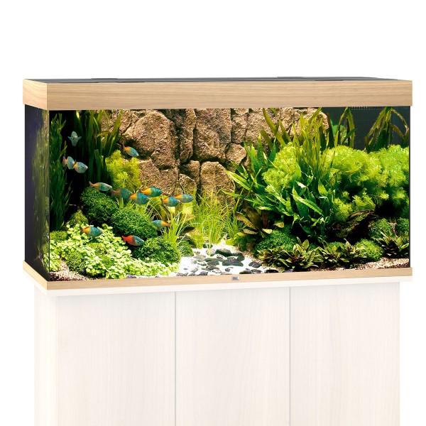 Rio 300 Aquarium ohne Schrank - Helles Holz