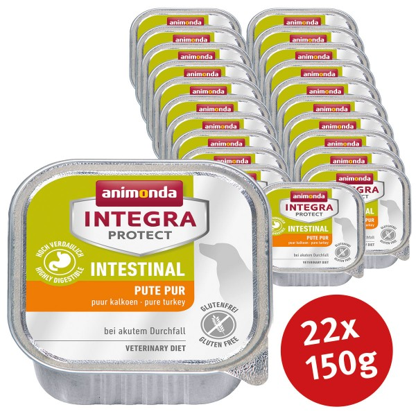Animonda Hundefutter Integra Protect Intestinal 22x150g