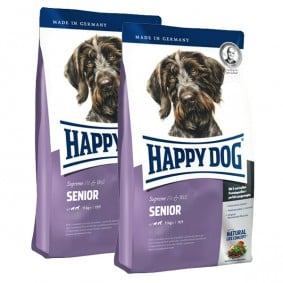 Happy Dog Supreme Fit & Well im Doppelpack Senior 2x12,5kg