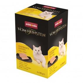 Animonda Vom Feinsten für kastrierte Katzen Pute und Käse