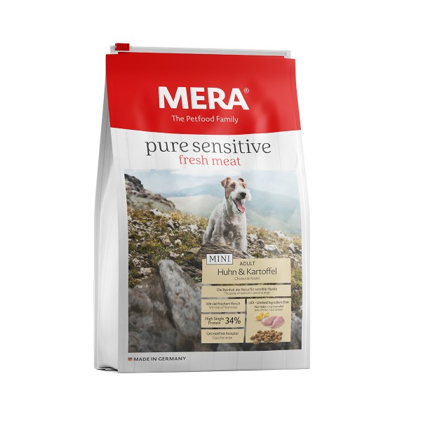 MERA pure sensitive Trockenfutter fresh meat Huhn & Kartoffel High Protein