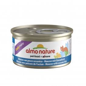 Almo Nature Daily Menu Cat Mousse mit Ozeanfisch