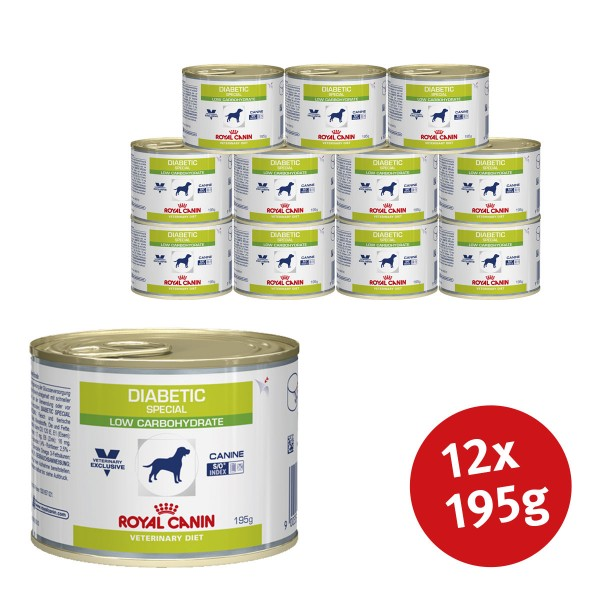 Royal Canin Vet Diet Nassfutter Diabetic Special Low Carbohydrate - 12x195g jetztbilligerkaufen