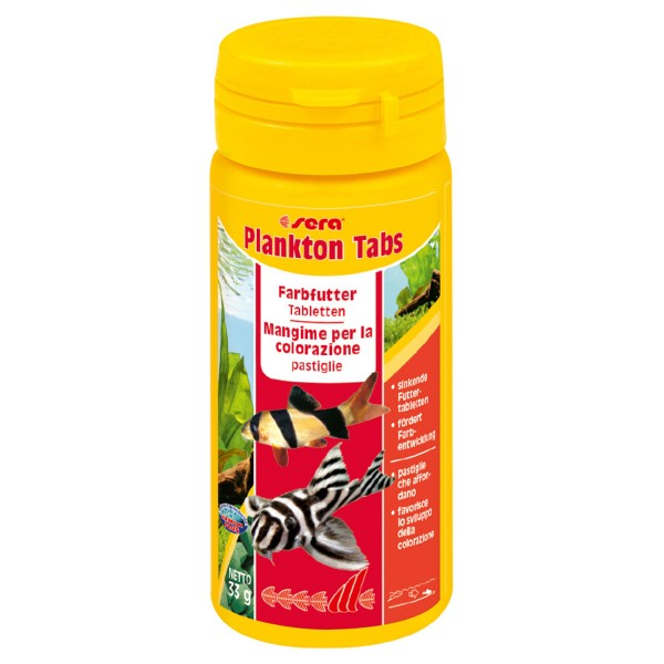 Plankton Tabs - 130 Tabletten (50ml)