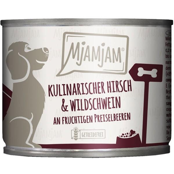 MjAMjAM kulinarischer Hirsch&Wildschwein an Preiselbeeren - 200g