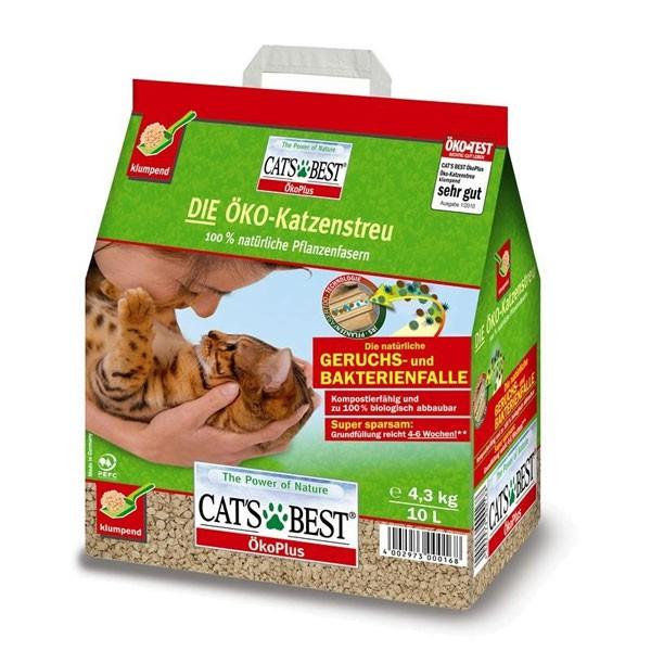 Cats Best Öko Plus Katzenstreu - 10l