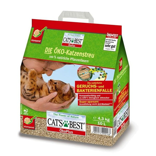 Cats Best Öko Plus Katzenstreu