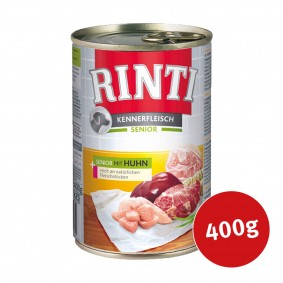 Rinti Nassfutter Kennerfleisch Senior mit Huhn