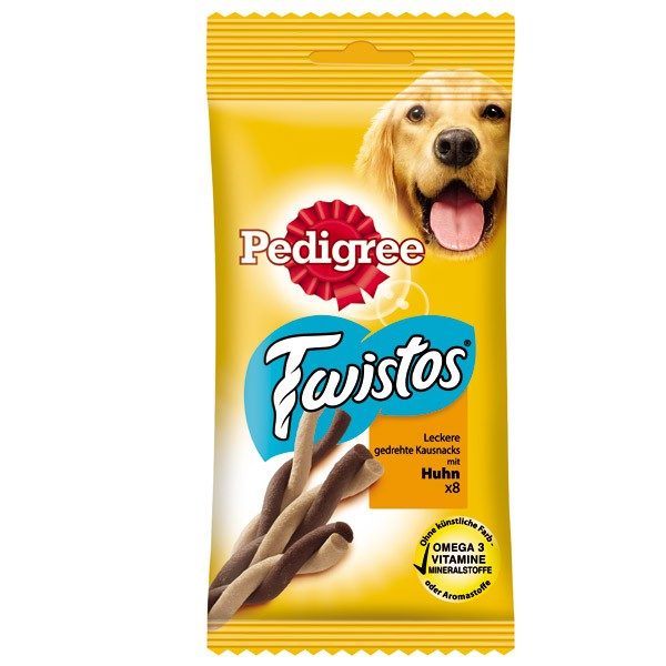 Pedigree Hundesnacks Twistos verschiedene Sorten
