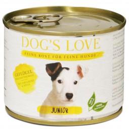Dog's Love Junior Geflügel mit Zucchini & Apfel