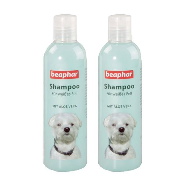 beaphar Shampoo für weißes Fell 2x250ml