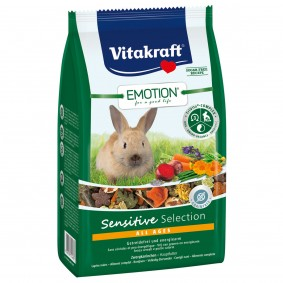 Vitakraft Emotion Sensitive Selection Zwergkaninchen 600g